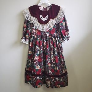 Other - Vintage Girls Holiday/Christmas Dress - Size 10